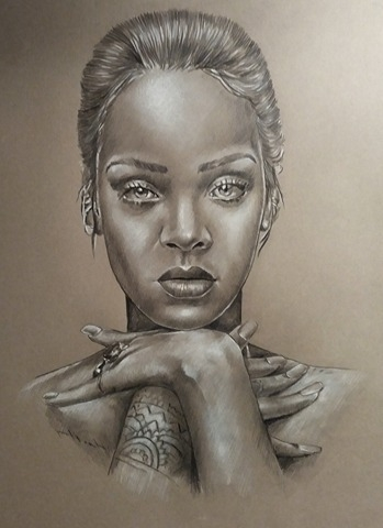 Rihanna por m.ortiz